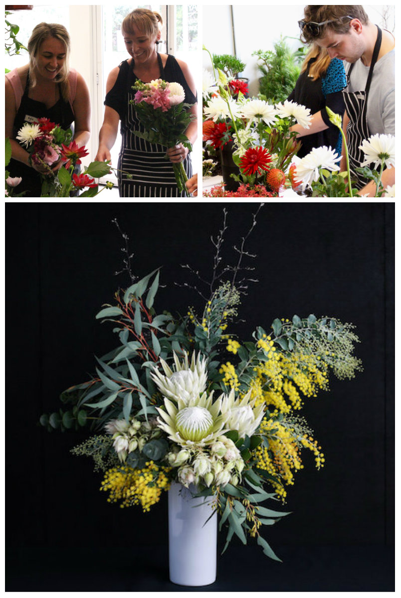 Invest in your team by booking a Wollongong Flowers team-building floral workshop